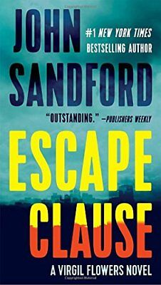 Escape Clause: A Virgil Flowers Novel by John Sandford (Paperback, 2017)