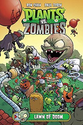 Plants Vs. Zombies Volume 8: Lawn Of Doom by Paul Tobin (Hardback, 2017)