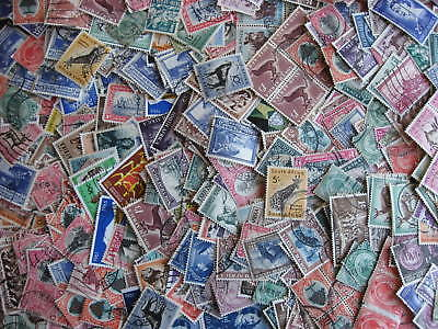 South Africa, SWA, scrap pile of 500,duplicates, mixed condition, worth a look!