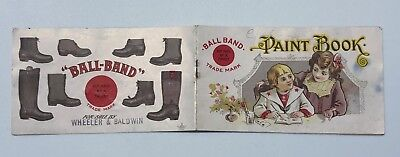 Ball-Band Boots and Shoes Advertising Paint Book Mishawaka Woolen Indiana