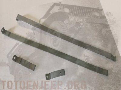 🔻 A1472 Strap Sangle Reservoir  Jeep Willys  M201