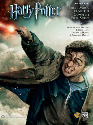 Harry Potter: Music from the Complete Film Series - Big Note Piano Book 39074
