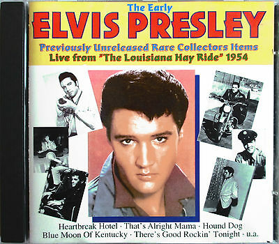ELVIS PRESLEY LIVE In The 50s Complete Tour Recordings RSD