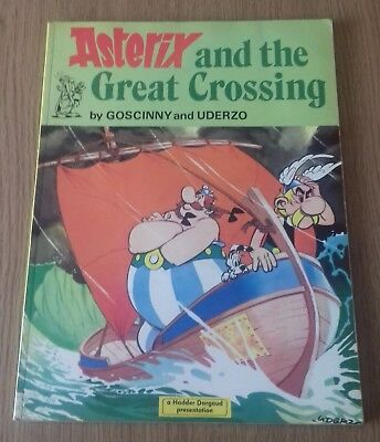 Asterix and the Great Crossing Goscinny and Uderzo Large Paperback