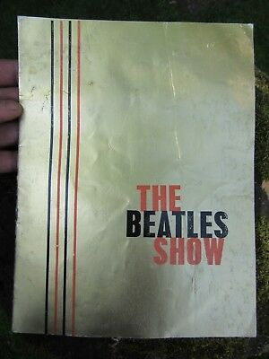 Beatles Show Gold Tour Programme bought Portsmouth 3/12/63 after 12/11 Cancelled