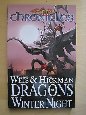 """DRAGONLANCE CHRONICLES BooK 2 """"DRAGONS of WINTER NIGHT"""" NEW TRADE PAPERBACK. DDP"""