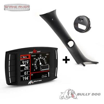 BULLY DOG GT DIESEL w PILLAR MOUNT 15-16 CHEVY SILVERADO GMC SIERRA 2500 3500