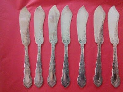Rogers Alhambra Butter Spreaders 1907