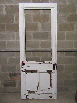 ~ Ornate Antique  Victorian Entry Door  ~ 34 X 89 ~ Architectural Salvage ~