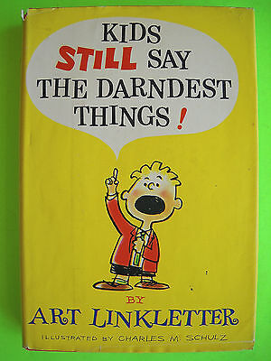 Art Linkletter KIDS STILL SAY THE DARNDEST THINGS 1st Printing 1961 HC w/ DJ