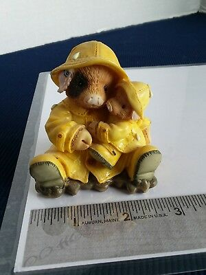 Enesco 1995 This Little Piggy Showering You With Hogs Figurine