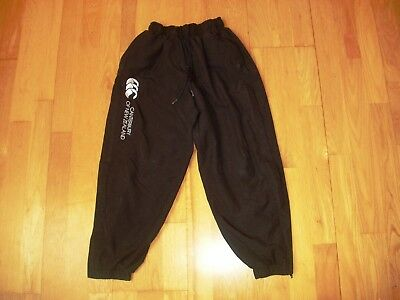 Black CANTERBURY joggers age 8 fully lined vgc