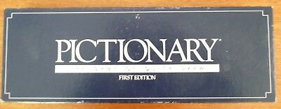 Vintage PICTIONARY First Edition Game 1985 -  Complete