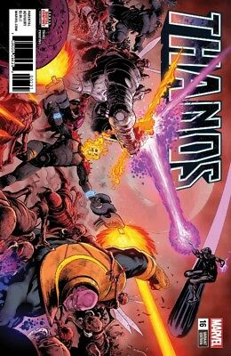 Thanos #16 3Rd Printing Shaw Variant Marvel Legacy Donny Cates Guardians 52318