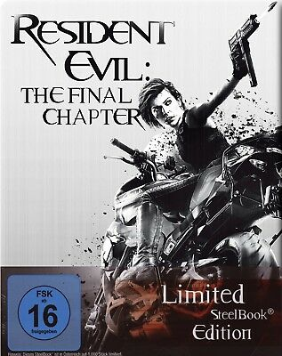Resident Evil 6 - The Final Chapter - Limited Steelbook # BLU-RAY-NEU