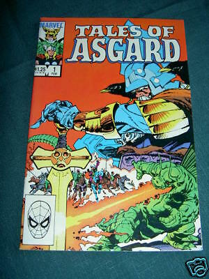 THOR : TALES OF ASGARD # 1 VF. Classic stories & art by .JACK KIRBY. MARVEL.1984