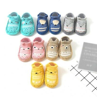Cute Cartoon Warm Anti-slip Shoes Newborn Kids Baby Unisex Boots Slipper Socks