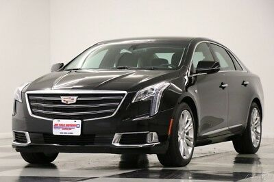 Cadillac XTS Luxury Heated Cooled Leather Navigation Camera Bla 2018 Luxury Heated Cooled Leather Navigation Camera Bla Used 3.6L V6 24V FWD