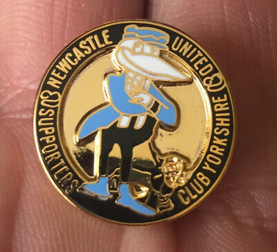 Newcastle United Yorkshire Supporters Club  Enamel Pin Badge