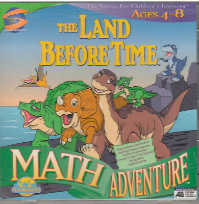 Land Before Time Math Adventure (Pc, 1998)