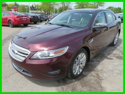 Ford Taurus Limited 2011 Limited Used 3.5L V6 24V Automatic FWD Sedan Moonroof