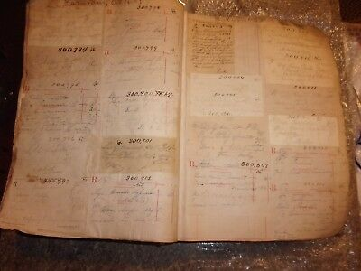 Antique 1889/90 Prescription Pharmacy Book Ledger Rx Full Norwich CT 292 pages -