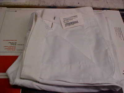 USN Navy Enlisted Male Trousers Dress Whites Bell Bottoms 40LX36 FREE SHIP #w123