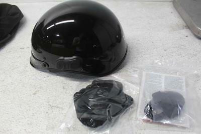 Calvalry Size S Glossy Black Bluetooth Motorcycle Half Helmet 321-0912