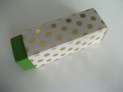 Kate Spade Eraser - One - Colored Green Eraser In Gold Dot Cover New