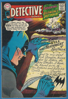 Detective #366 Very Good/Fine 1967 Batman/Elongated Man DC Comics