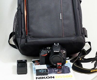 Nikon D5500 DSLR ONLY 156 SHUTTER COUNT 24.2MP Digital SLR Camera Body