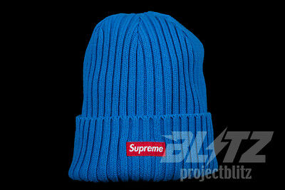 314bb38331fe0 ... coupon code for supreme overdyed ribbed beanie royal ss18 2018 red  white box logo 12f6e e8106