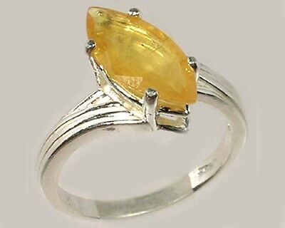 Yellow Sapphire Ring 2¼ct Antique 19thC Gem of Ram Engraved Medieval Black Magic