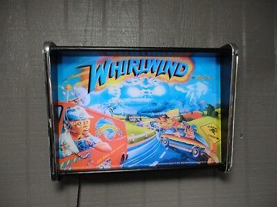 Williams Whirlwind Pinball Head LED Display light box