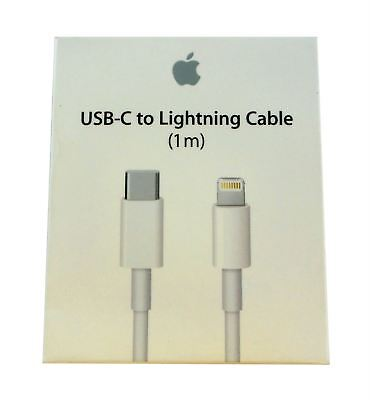 Apple USB-C to Lightning Cable (1m) MK0X2AM/A White A1656 Authentic OEM