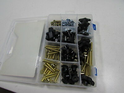 129 Piece Jig Fixture T Track Hardware Kit