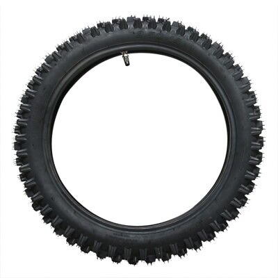 "60/100-14 Inch Tire 2.75-14"" Knobby Front Tyre & Inner Tube Pit Pro Trail Bike"