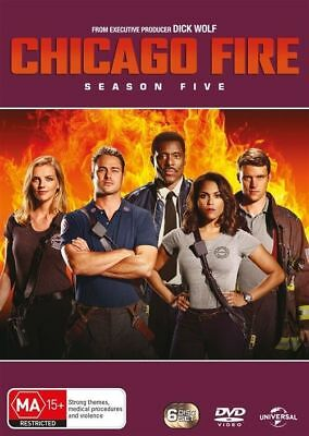 Chicago Fire Season Five 5 DVD NEW Region 4