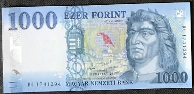 Hungary NEW - 1000 Forint 2017 - UNC