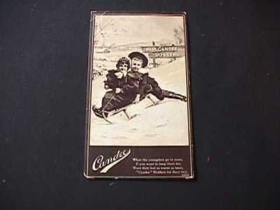 Candee Shoe Rubbers Vintage Advertising Card