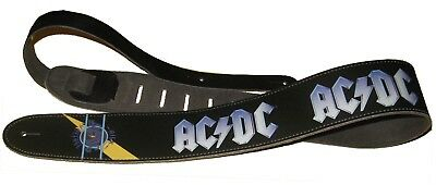 "AC/DC "" High Voltage "" Leather Guitar"