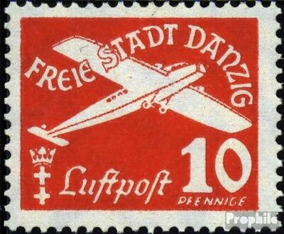 Gdansk 298 used 1938 Airmail