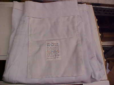 USN Navy Enlisted Male Dress White Pants Bell Bottoms 32R FREE SHIPPING loc#w153