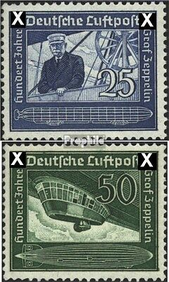 German Empire 669-670 (complete issue) unmounted mint / never hinged 1938 Count