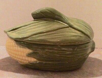 Shawnee Pottery Corn King # 73 Small Covered Casserole Dish