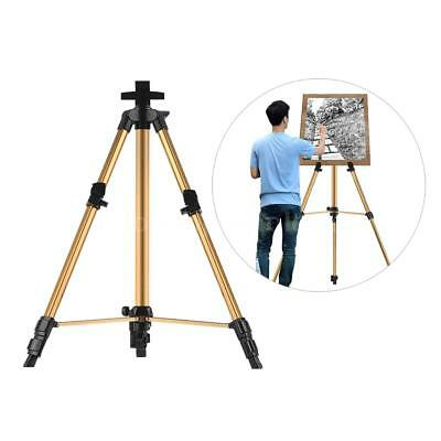 Folding Artist Field Painting Easel Tripod Display Telescopic White Board Stand
