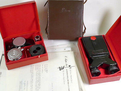 Leitz Leica Stemar 3D Stereo Attachment w/Viewer and more – owned by McKay - MU