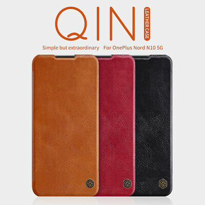 Genuine Nillkin PU Leather Flip Wallet Card Cover Case For OnePlus 7 /Pro /6T /6
