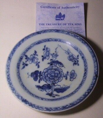 Tek Sing (True Star) Shipwreck Treasure Chrysanthemum dish   Sank in 1822