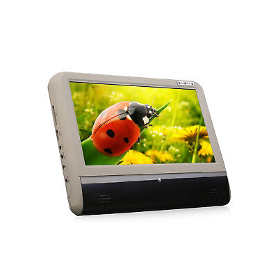 """Slim Active 9""""HD Touch Screen Car Headrest DVD Player Pillow Monitor USB/SD/Game"""